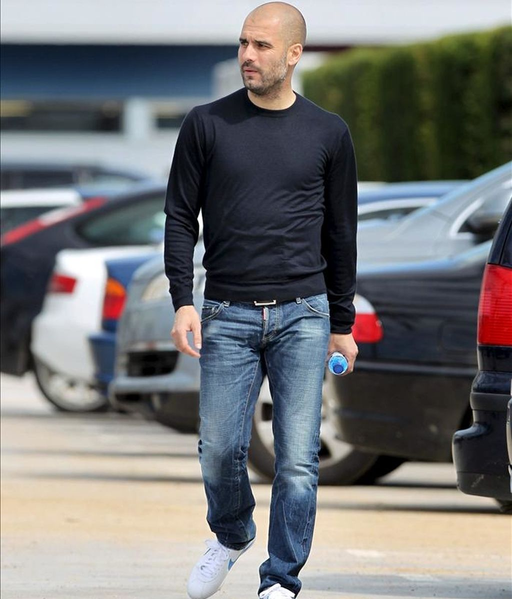 El entrenador del FC. Barcelona, Josep Guardiola. EFE/Archivo