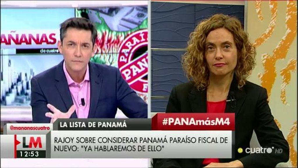 """M. Batet: """"Panamá, en estos momentos, no está llevando a cabo con el rigor y la transparencia necesaria el flujo informativo"""""""