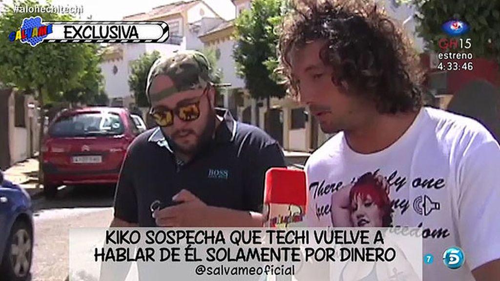 Kiko Rivera cree que Techi ha vuelto a hablar de él solo por dinero