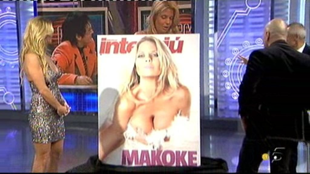 La portada de Interviu de Makoke al decubierto