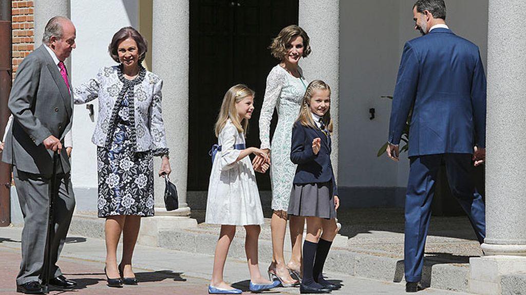 La Princesa de Asturias hace la Comunión