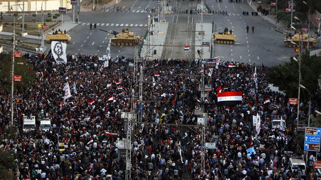 Miles de egipcios contra Morsi