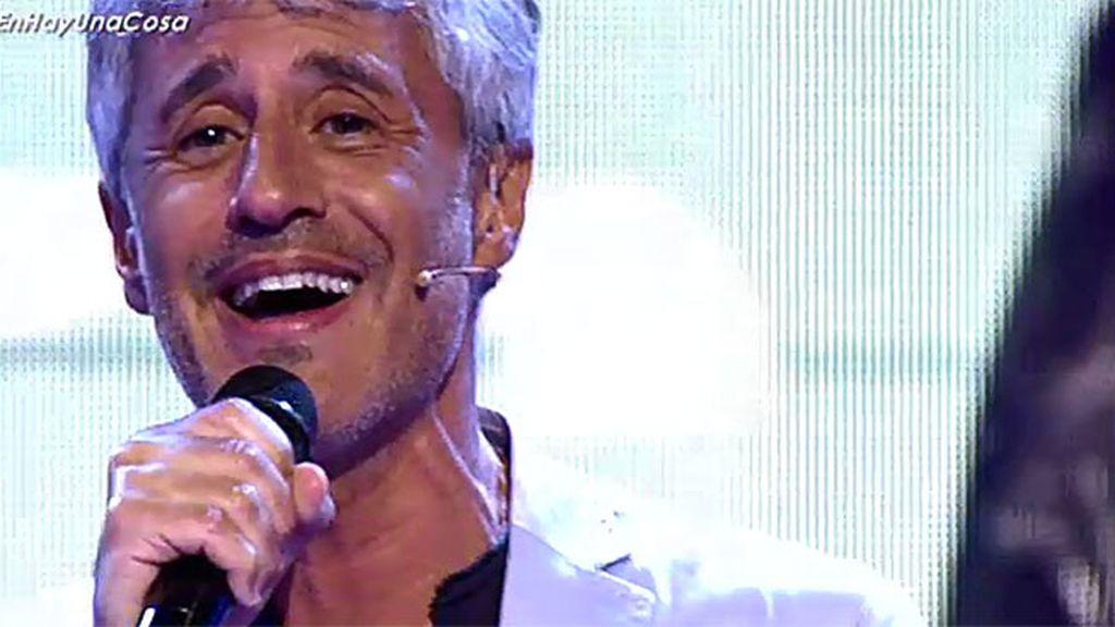 Sergio Dalma dedica a Isabel y Cristina el tema 'Volar sin ti', de su disco 'Cadore 33'