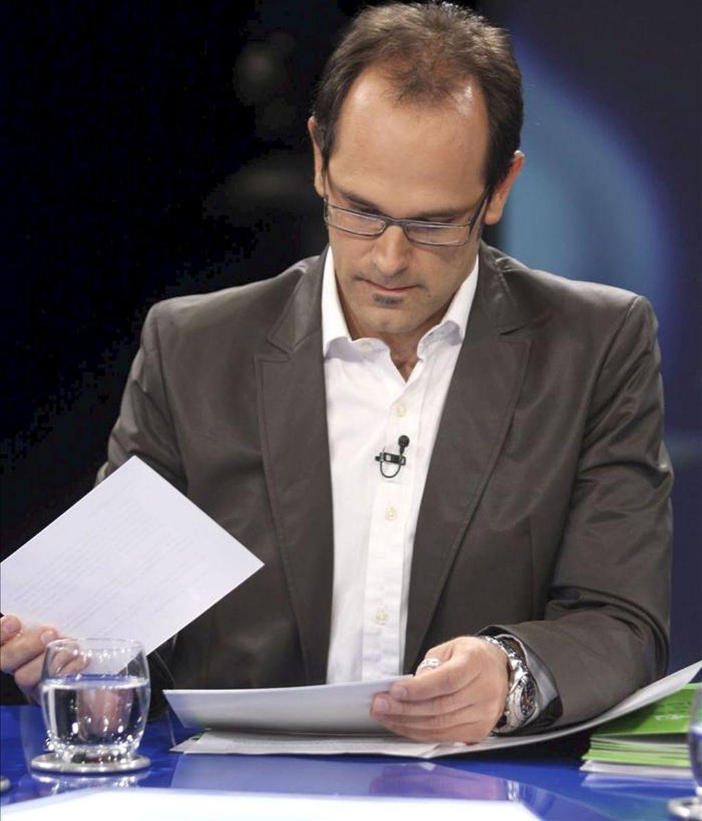 El eurodiputado ecologista español, Raúl Romeva. EFE/Archivo