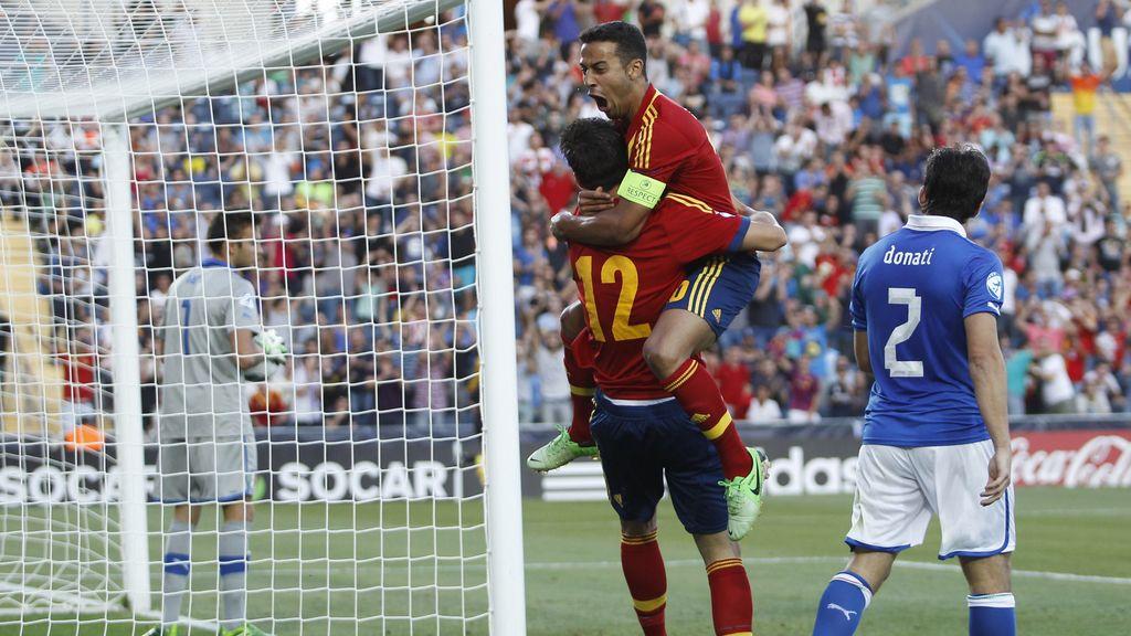 Italia-España, las mejores imágenes de la final