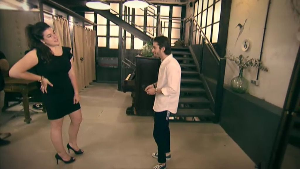 Arancha se va de shopping con Pelayo