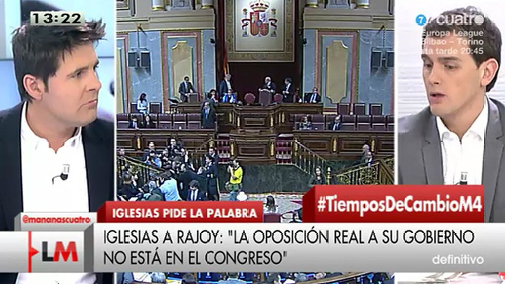 """Rivera: """"No sé si es humilde decir ser líder de la oposición sin que te hayan votado"""""""