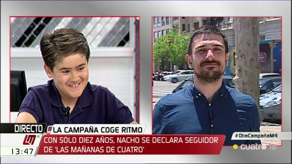 """Espinar, a Nacho: """"Cuando vaya a 'Las Mañanas' te invito a una 'Coca – Cola' por el cable que me echaste con Pedro Sánchez"""""""