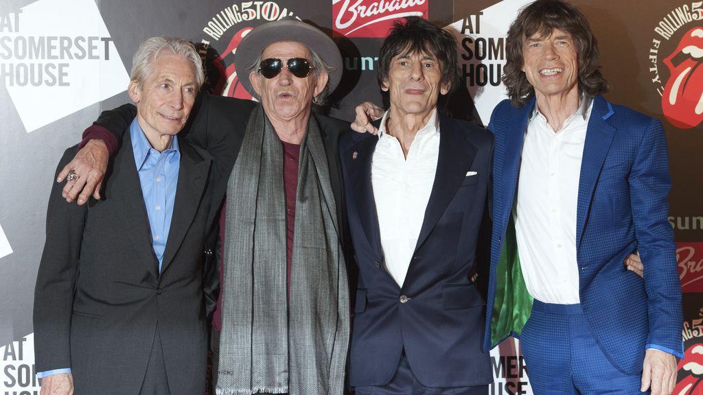 The Rolling Stones darán cuatro conciertos para celebrar su 50 aniversario