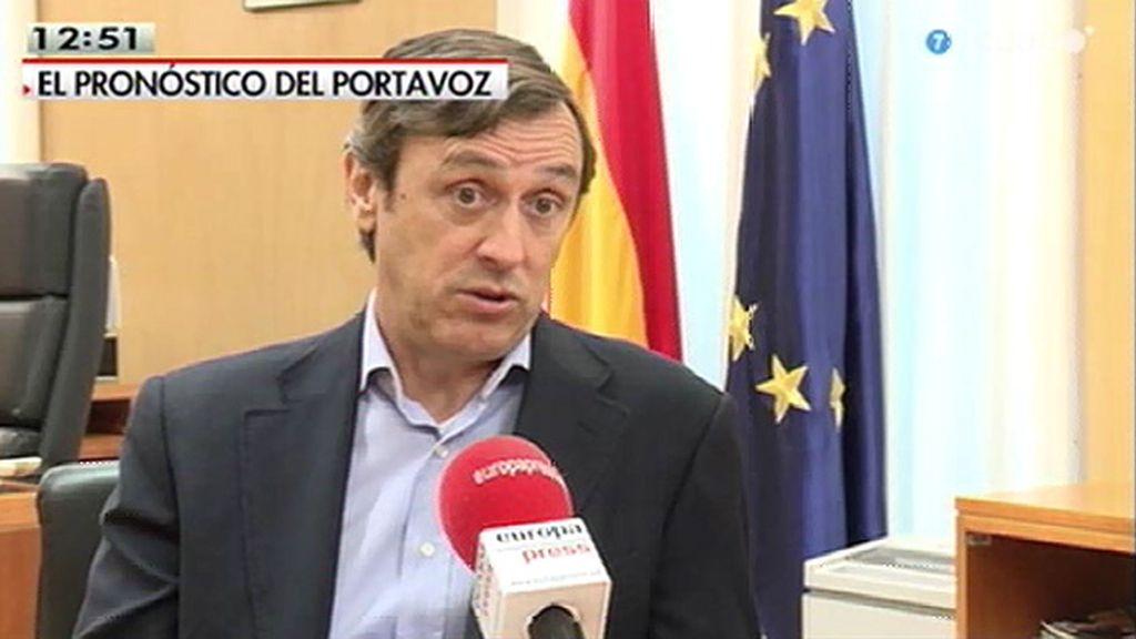 """Rafael Hernando: """"El 2015 es el año en que la gente notará en sus bolsillos el resultado de la política económica"""""""