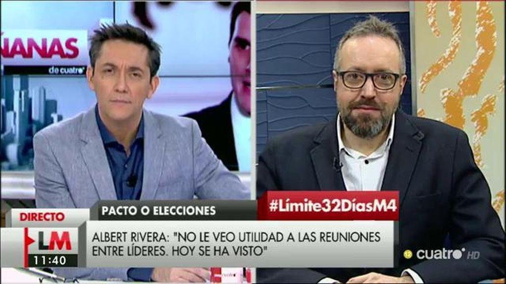La entrevista de Juan Carlos Girauta en 'Las Mañanas de Cuatro', a la carta