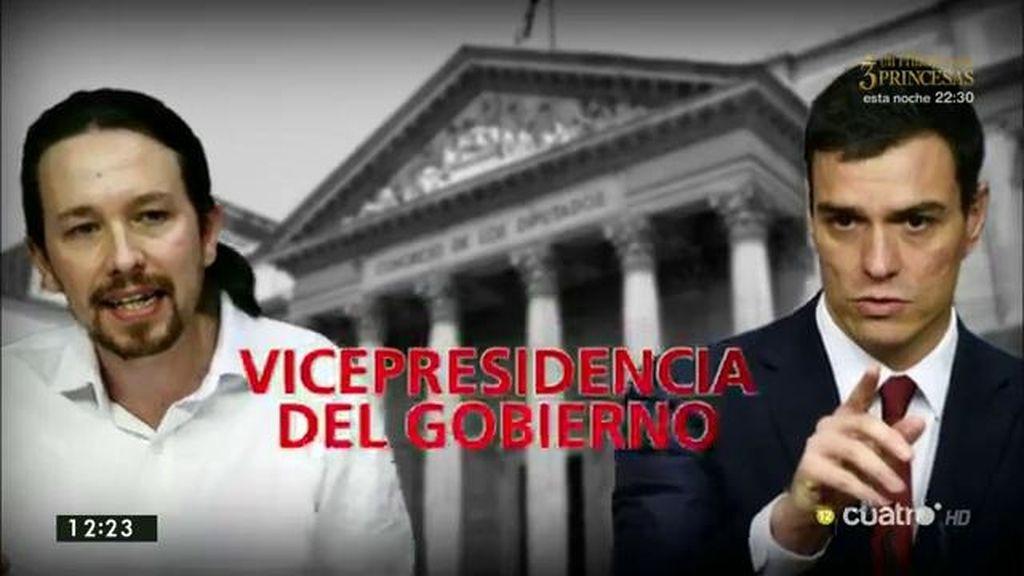 Pacto excluyente, Vicepresidencia, Cataluña... los ataques entre Iglesias y Sánchez