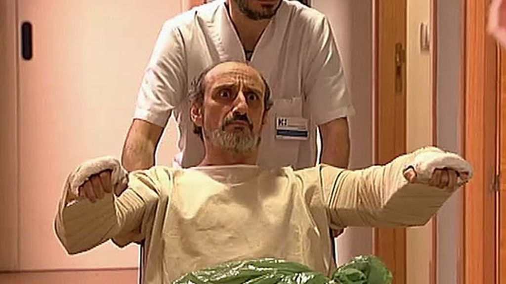 Enrique sufre un accidente de moto