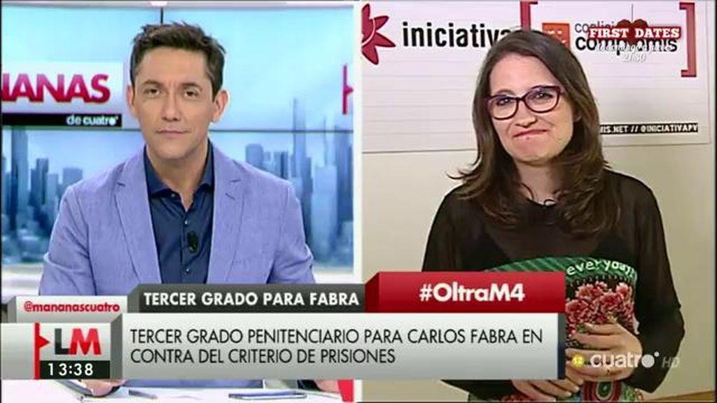 La entrevista con Mónica Oltra, a la carta