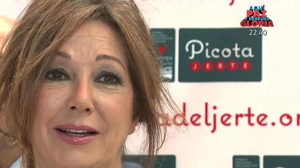 Ana Rosa Quintana, Premio Picota 2015 por su labor profesional