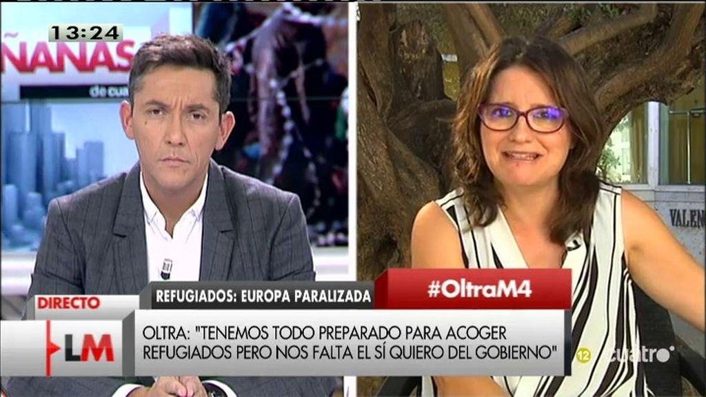 """Oltra: """"El dinero de la F1 en Valencia serviría para sacar a los niños de los barracones"""""""