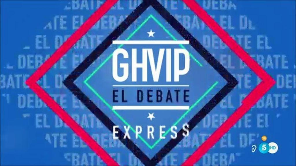 El debate de 'GH VIP' (27/03/16)