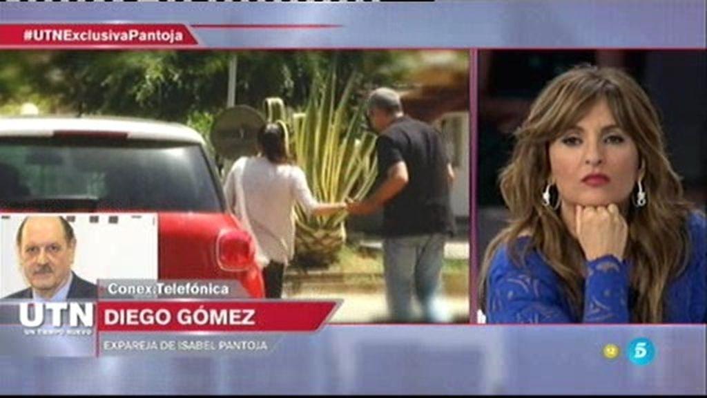 """D. Gómez, con ironía: """"No estoy enterado del tema de I. Pantoja, no se ha tratado en los medios"""""""