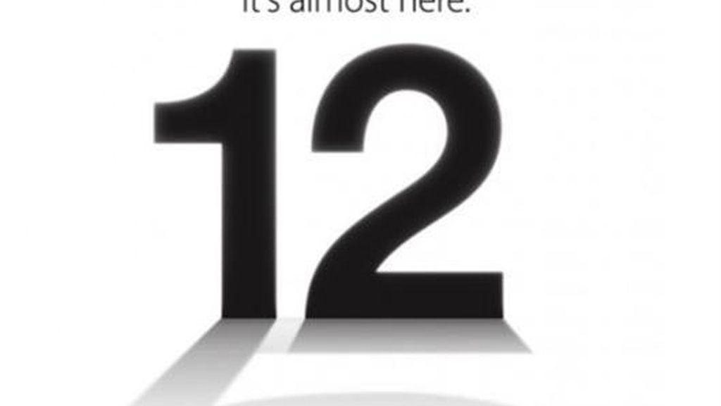 Apple anuncia la presentación del iPhone 5 para el 12 de septiembre