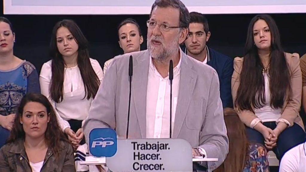 """Rajoy: """"Lo que funciona no se cambia"""""""