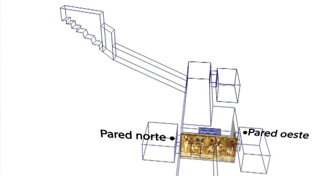La cámara de Nefertiti podría encontrarse en la tumba de Tutankamón