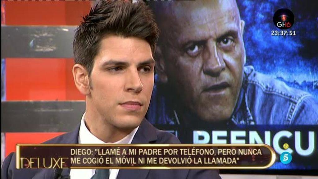 """Diego Matamoros: """"Mi padre no es el mismo desde hace tiempo. Ha perdido credibilidad"""""""