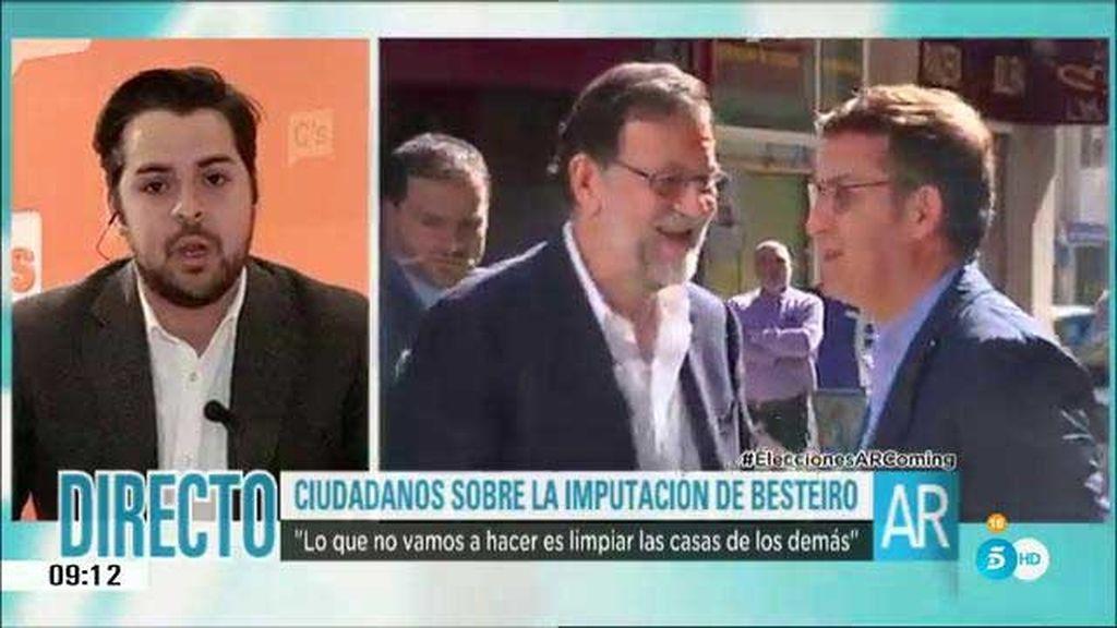 """Fernando de Páramo: """"Nosotros no hemos pedido la cabeza de Rajoy"""""""