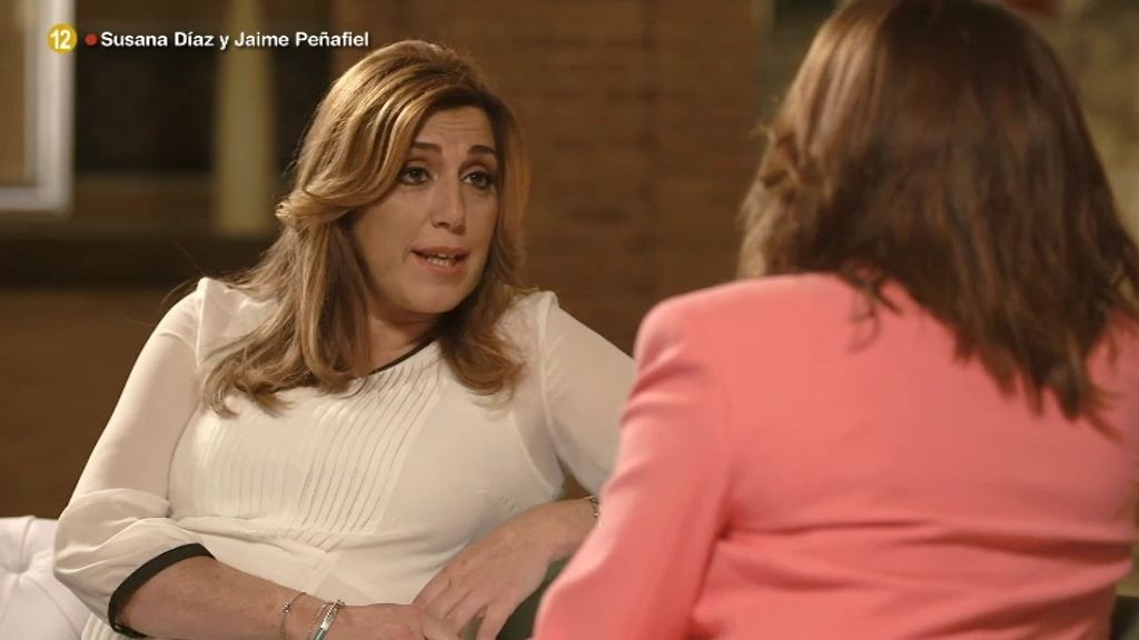 """Susana Díaz: """"Ha sido un niño inesperado porque la cigüeña no me encontraba"""""""