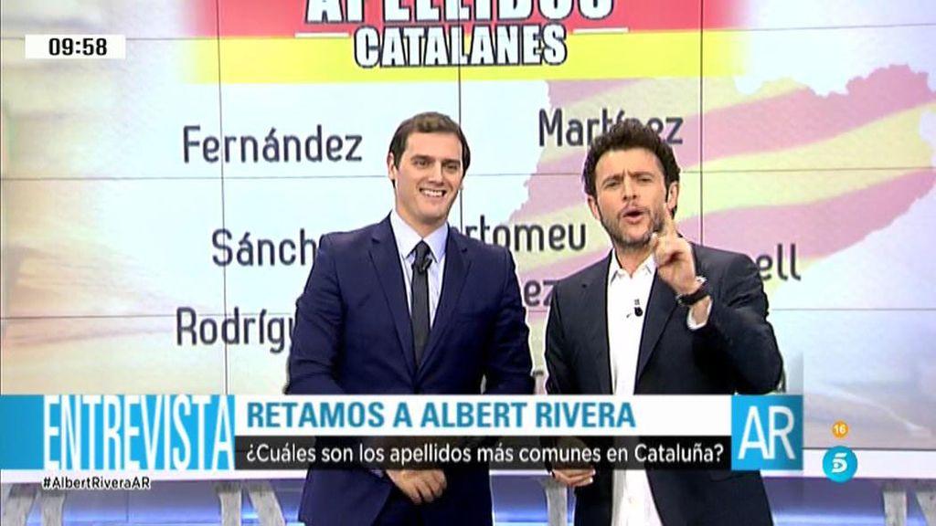 'Ocho apellidos catalanes', con Albert Rivera