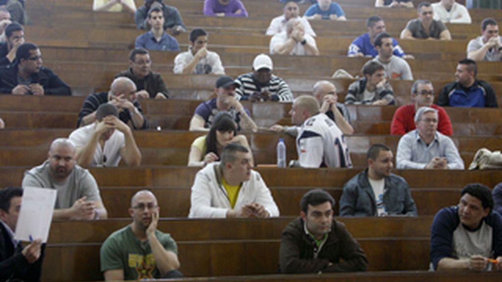 Los porteros también se examinarán en Cataluña. Foto: EFE.