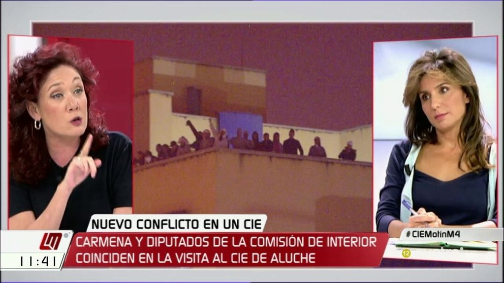 "Cristina Fallarás, sobre los CIE: ""Privar de libertad a quien no ha cometido delito es una forma de tortura"""