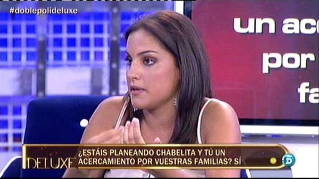 """Estefanía: """"Chabelita es amable y comprensiva y me ha tratado muy bien"""""""