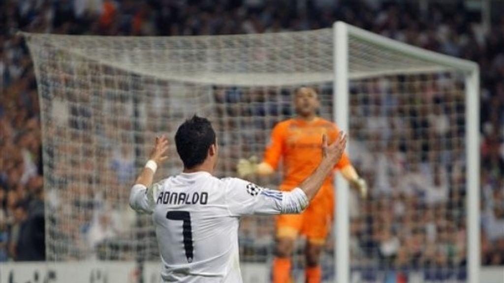 CR7 anotó el último gol. Foto: AP.