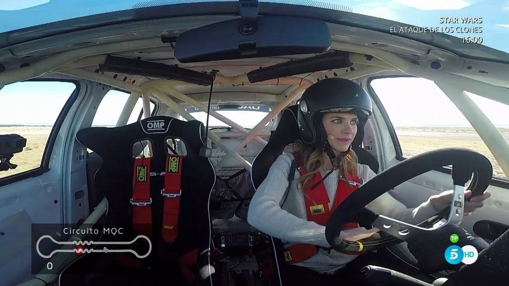 El desafío de Vanesa Romero: ¡tiempazo y cómo se maneja al volante!