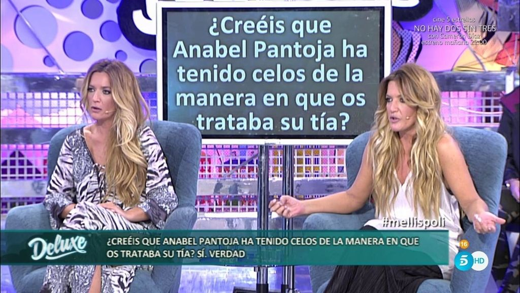 Las Mellis destapan los celos que Anabel Pantoja tenía por cómo les trataba su tía
