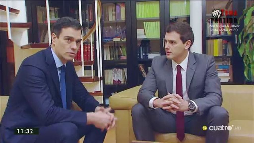 Los puntos del acuerdo entre PSOE y Ciudadanos