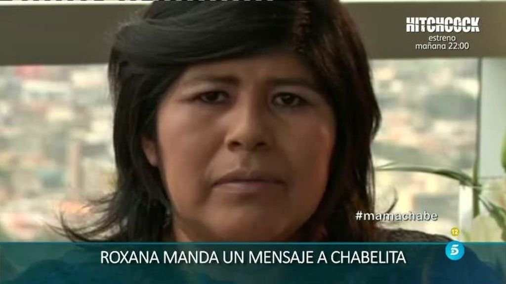 "Roxana manda un mensaje a Chabelita: ""Si te he causado daño, lo siento mucho"""