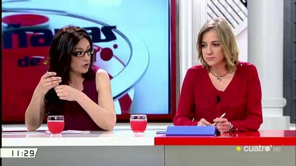 """Tania Sánchez, del acuerdo IU-Podemos: """"Hay una apuesta de subir la ilusión y garantizar que es posible un cambio"""""""