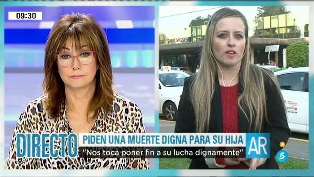 """Estela Ordóñez: """"El cuerpo de mi hija ya no puede más"""""""