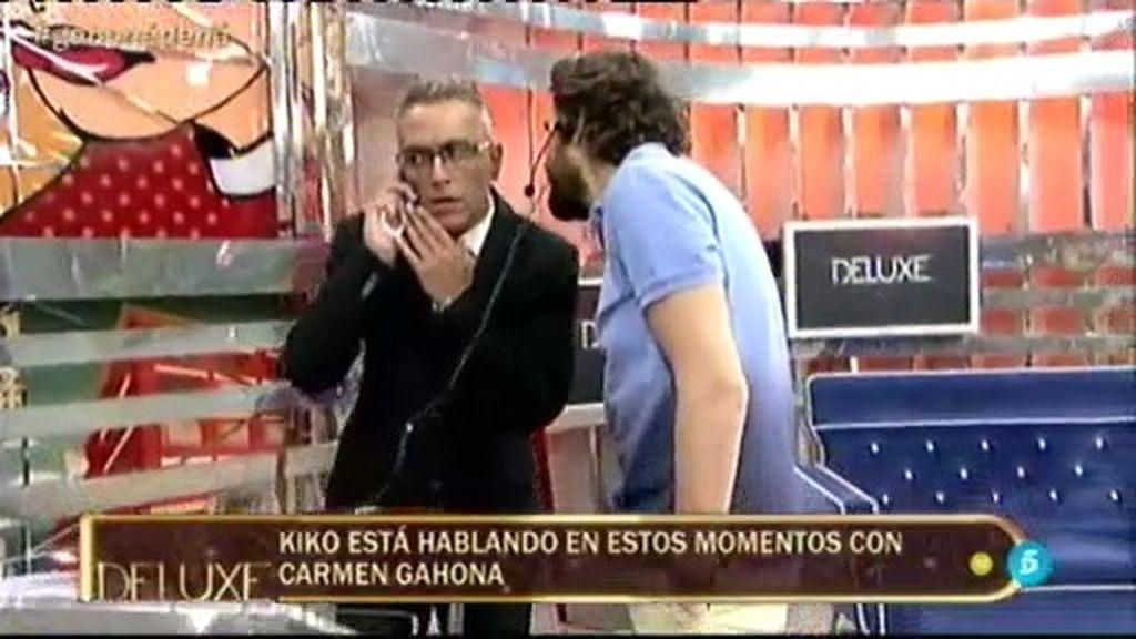 Gahona llama a K. Hernández en directo… ¡qué tiemble el comando anti-Gahona!