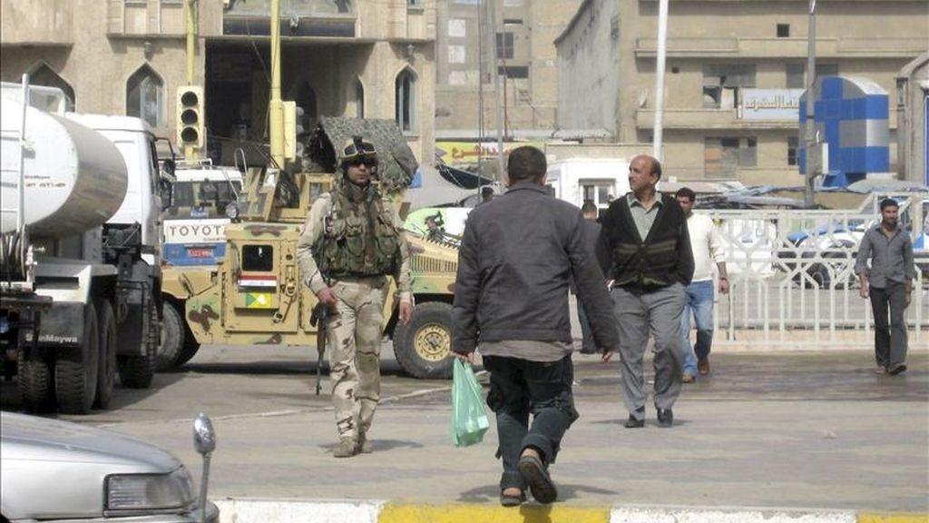 El primer ministro iraquí, Nuri al Maliki, dijo hoy que la prórroga del acuerdo de seguridad firmado entre Irak y EEUU requiere de un consenso nacional, y negó que el Gobierno haya acordado extenderlo en secreto. EFE/Archivo