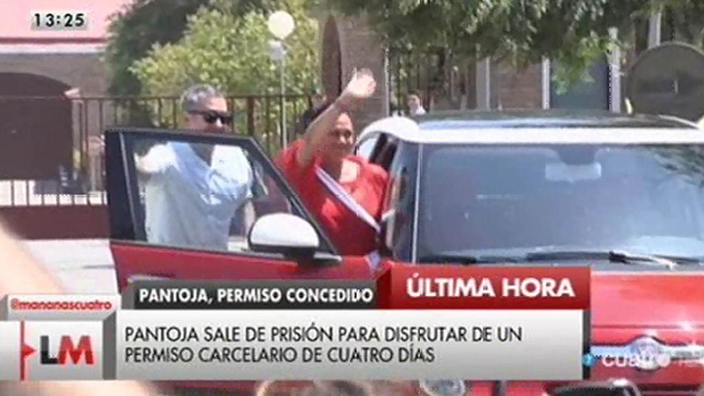 Isabel Pantoja sale de prisión para disfrutar de un permiso carcelario
