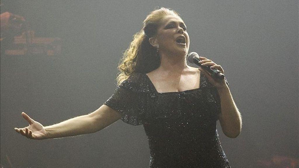 La cantante española Isabel Pantoja en concierto. EFE/Archivo