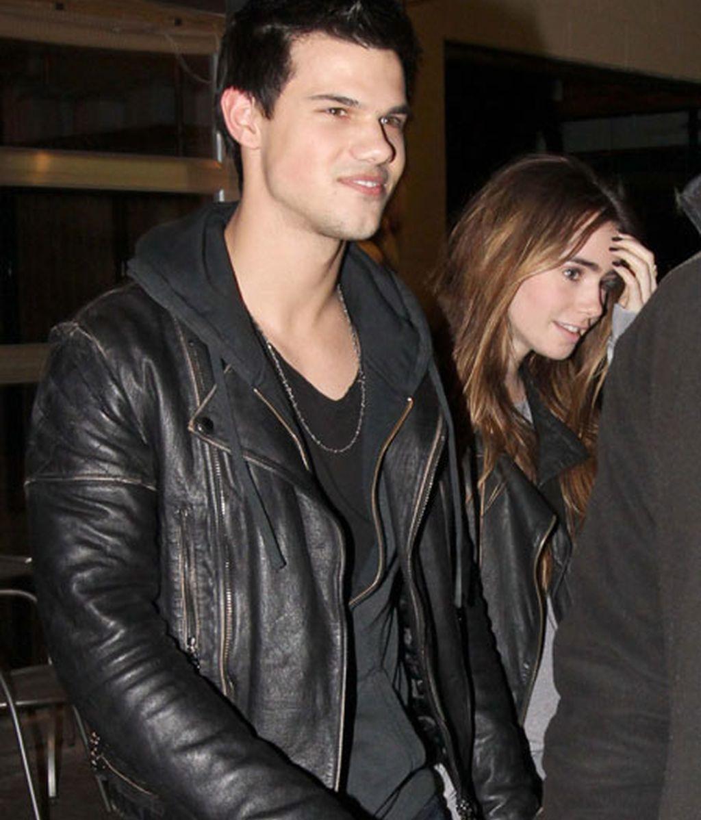 Taylor Lautner, con su nueva novia