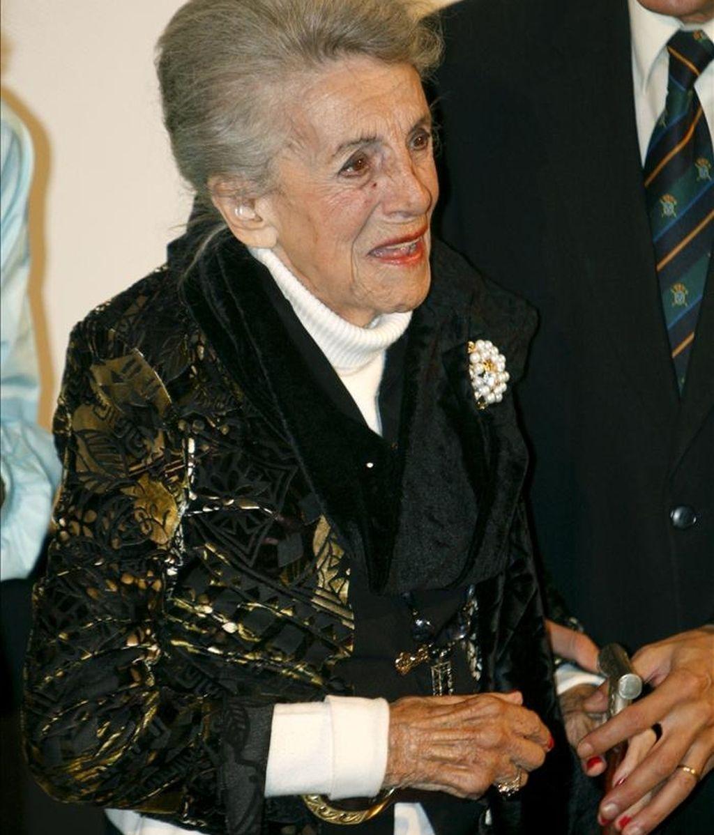 La actriz María Isbert, nombrada miembro de honor de la Academia de Cine. EFE/Archivo