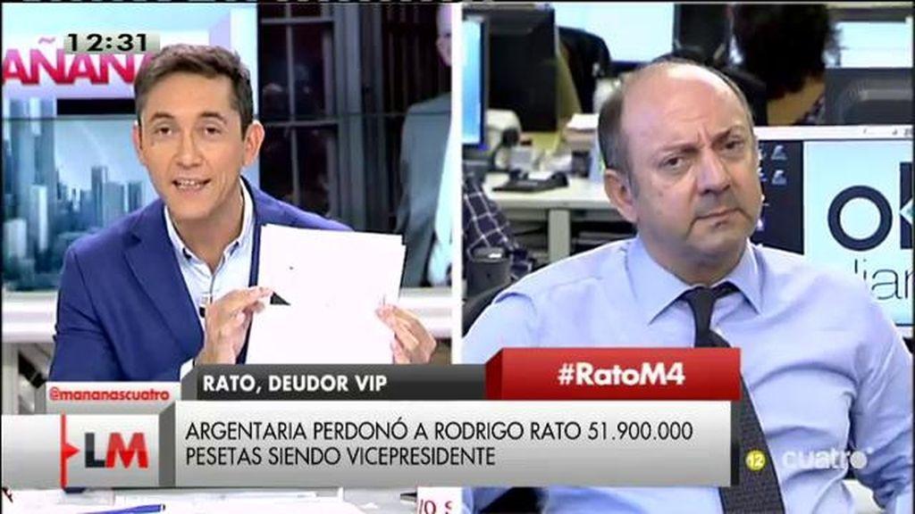 """Francisco Mercado: """"Rato consigue favores de una persona a la que él ha nombrado"""""""