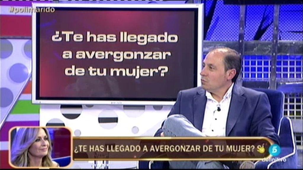 """Jesús Atahonero lo reconoce: """"Siento que mi mujer me ha humillado públicamente"""""""