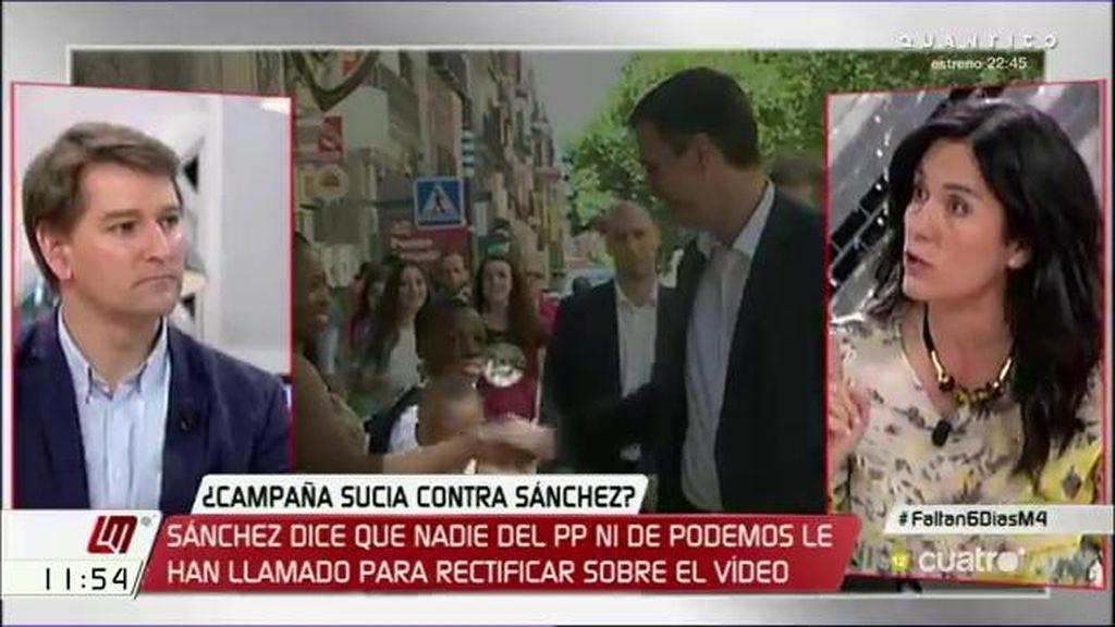 """M. de la Rocha: """"Es como un chiste que Albiol acuse de racista a Pedro Sánchez"""""""