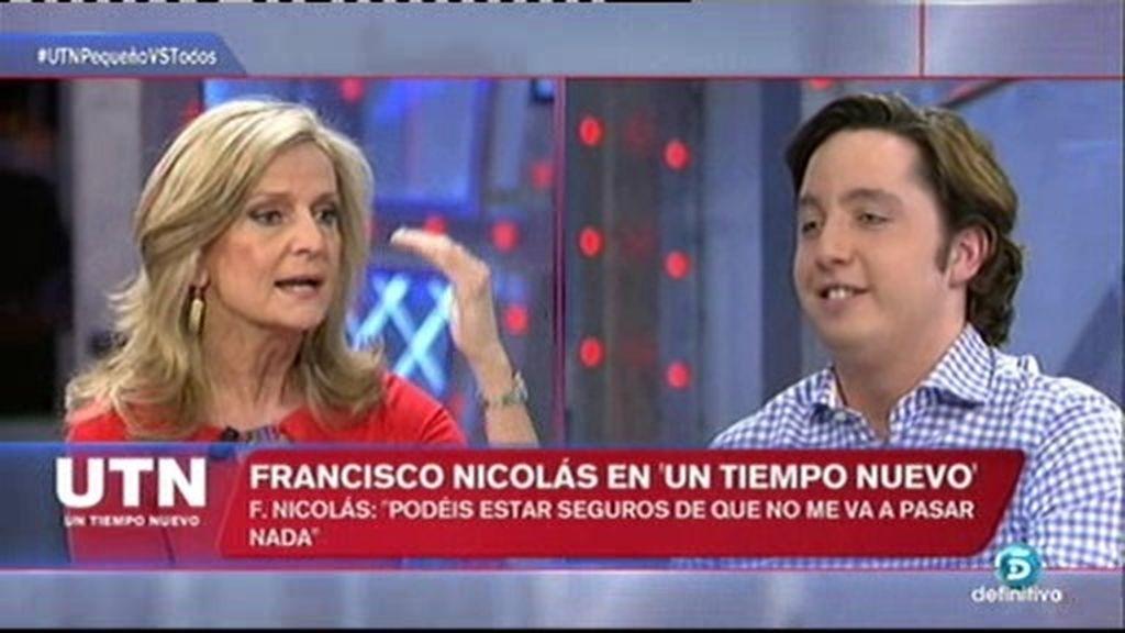 """Nicolás se pica con Isabel San Sebastián: """"¿Me acabas de llamar sinvergüenza?"""""""