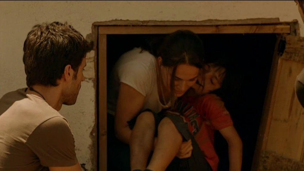 La madre de los niños les dejó encerrados en un sótano